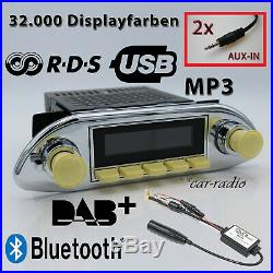 Retrosound Santa Barbara DAB+ Komplett Porsche 356 MP3 Bluetooth SB311IV080068