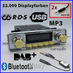 Retrosound Santa Barbara DAB+ Komplettset VW Käfer Bluetooth MP3 SB304IV078068