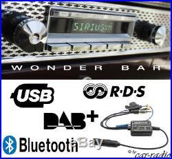 Retrosound Santa Barbara DAB+ Wonder Bar Komplettset Oldtimer Radio Wonderbar