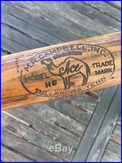 SCARCE 1920 M. R. CAMPBELL INC Old Antique Vintage MILK BOTTLE STYLE Baseball Bat