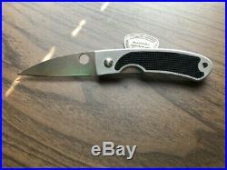 Spyderco Centofante C25PBK knife Old Early Style Vintage