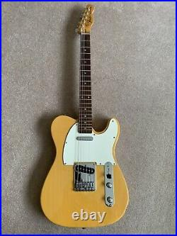 Squier By Fender Telecaster. 70s Style. 23 Year Old Vintage Butterscotch Blond