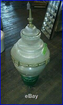 Street Light Head. Vintage Style Holophane Glass Old Style Street 5 Available