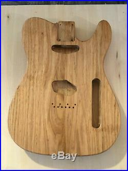 Tele Vintage Style Body Ss Pickups Reclaimed 200 Year Old Chestnut USA Made