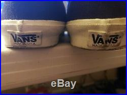 VERY RARE Vintage Made In USA Vans Mid Skool Style 37 Old Skool Mid USA Made 8.5
