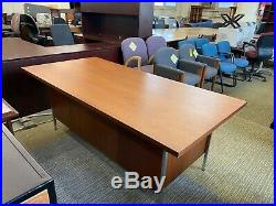 VINTAGE/OLD STYLE DESK by KNOLL INTERNATIONAL in CHERRY WOOD