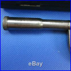 Very Old Vintage Brown & Sharpe #15 Micrometer old style thimble Machinist