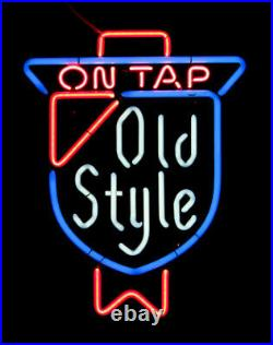 Vintage AUTHENTIC Old Style ON TAP Heileman's Neon Light Sign Lamp 20x15