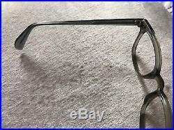 Vintage American Optical Arnel Style Smoke 46-22 New Old Stock