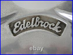 Vintage Edelbrock Engine Front Mount Aluminum Bbc Chevy Old Style Boat