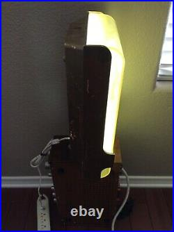 Vintage Heileman's Old Style Beer Lighted Sign Works FREE SHIPPING