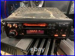 Vintage Kenwood KDC 410 Pull Out Style Cassette Tape Radio Stereo Old School
