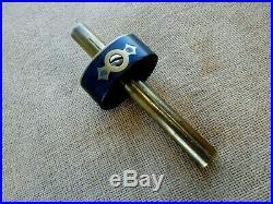 Vintage Mortise gauge ebony Ultimatum style English old marking gage /2087