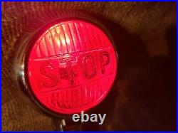 Vintage NTD Accessory STOP LIGHT lamp car truck motorcycle gm ford nice nos