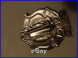 Vintage Obsolete St. Louis Police Badge Old Style Metropolitan