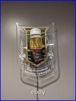 Vintage Old Style Beer Bubbler Bar Sign Mug