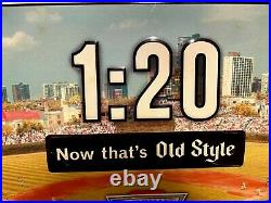 Vintage Old Style Beer Chicago Cubs 120 Now That's Old Style Sign Wrigley Field