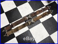 Vintage WWII Style 3 Green Bomber Aircraft Warbird Seat Belts SCTA Rat Rod TROG