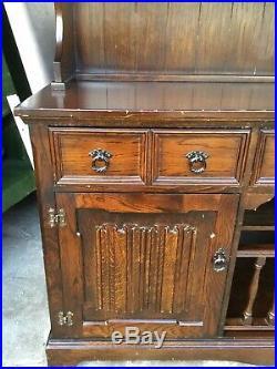 Vintage antique Old Charm Style Dresser / Cabinet