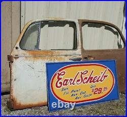 Vintage look Old Style Earl Scheib body shop Sign 60s look hot rod garage art