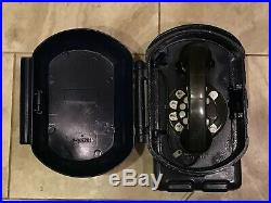 Vintage old New York Blue Police Call Box Phone NYPD Style Telephone