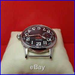 Vintage style Marriage Molnia USSR old 1953 year Russian mens watch Case new