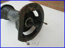 Vintage style old cast iron weathered small garden water pump ornament feature