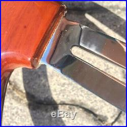 Volante Vintage 3 razze old style in vero legno