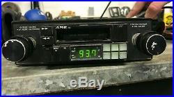 Vtg ALPINE 7162 Tape deck AM/FM Radio Knob Shaft Style Old School Porsche Tested